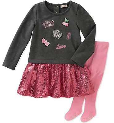 Juicy Couture Infant Girls' Dress and Tight Set Size 3/6M 6/9M 12M 18M 24M $60 - Infant Couture Dresses