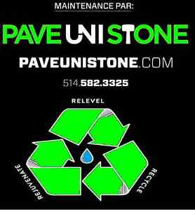 PAVER REPAIR - PAVEUNISTONE.COM - UNISTONE CLEANING West Island Greater Montréal image 1