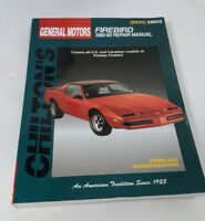 NEW Chilton Total Car Care Repair Manual 1982 - 1992 Firebird Winnipeg Manitoba Preview