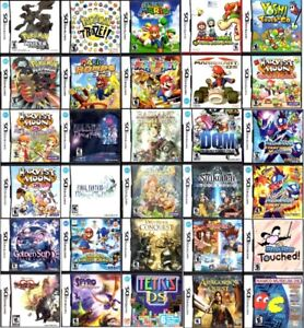 Nintendo DS Games (Orillia) (Open For Trading)
