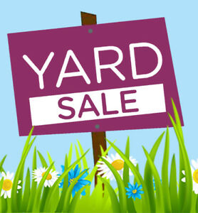 Yard Sale! Sunday, June 24 - 140 Maria St - 9 am to 2 pm