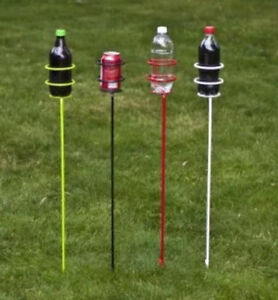 Beverage Drink Holder Stakes 4 Blue Holders for an Outdoor Party Regina Regina Area image 2