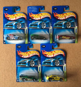 Hot Wheels 2003 Sega Series - Complete set of 5 cars
