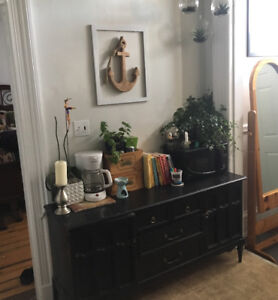 Beautiful Black Cabinet for sale and MORE!