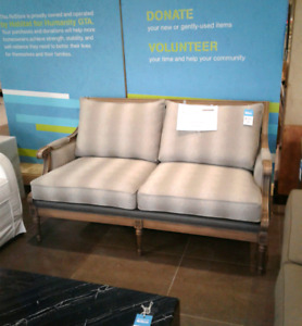 NEW PRICE New Ethan Allen Love Seat  @HFHGTA