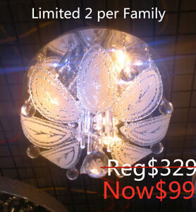 brand new crystal remote ceiling chandelier