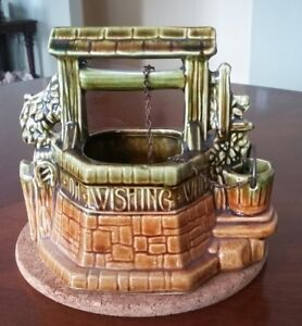McCoy Pottery Wishing Well from the 1960's