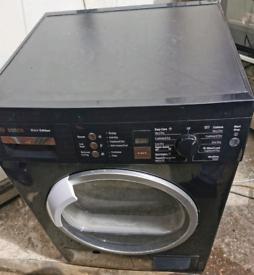 Bosch black condenser tumble dryer