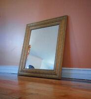 Vintage gold mirror $75.
