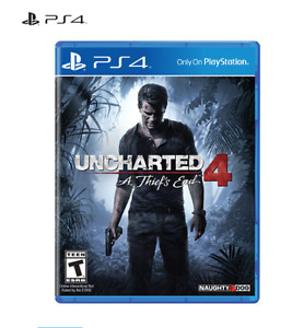 Uncharted 4: A Thief's End (PS4) PlayStation 4