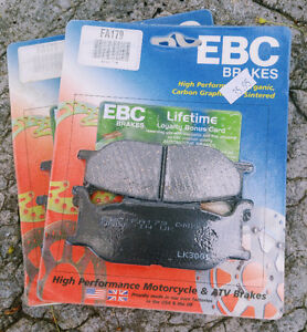 2 (TWO) NEW sets of EBC Carbon Graphite Brake Pads