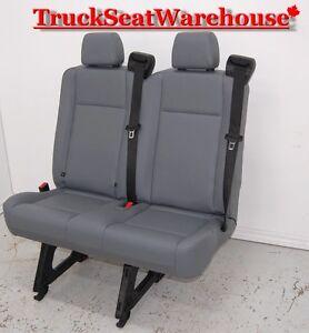 2 Man Bench Jumpseat Chevy Van Savanna Express Ford E150 Truck