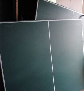 Table de ping pong, complet