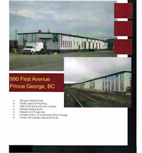 Rail Spur Industrial Building & Property for sale or rent