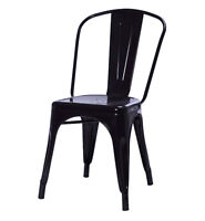 $75 Tolix Style Industrial Metal Dining Chair | Chaise Diner