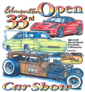 EDMONTON OPEN CAR SHOW YEAR 33