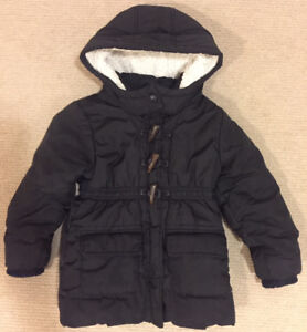 Old Navy Frost Free Black Winter Jacket - Girls 5T