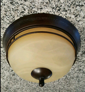 Domed Ceiling Light Fixture