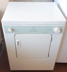 Whirlpool Heavy Duty Portable Electric Dryer 110V