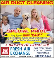 DUCT CLEANNING SPECIAL