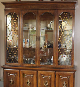 China Cabinet with Hutch.