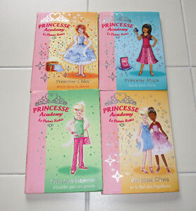 4x French Chapter books Princesse Academy- Le Palais Ruby