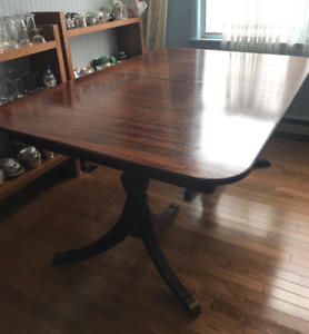 MAKE AN OFFER!! ANTIQUE, MAHOGANY,  DUNCAN PHYFE DINING TABLE
