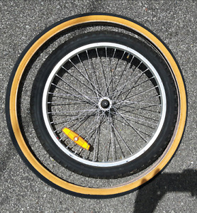 ○☆○ 20 & 26 inch bicycle wheel rims & tires - See pics... ○☆○