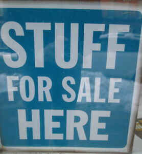 Stuff For Sale! Nearly New in Downtown Port Hope.