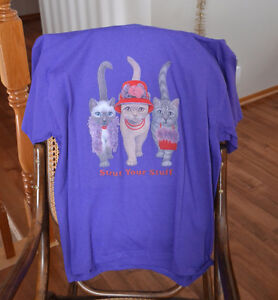 Red Hat tee shirt for the cat lover