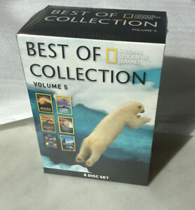 New Volume 5 Best of National Geographic Channel 8DVD Collection