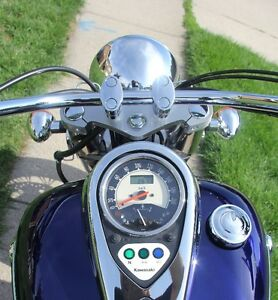Mint Condition Kawasaki Vulcan 900 Classic - Low KMS! Cambridge Kitchener Area image 8