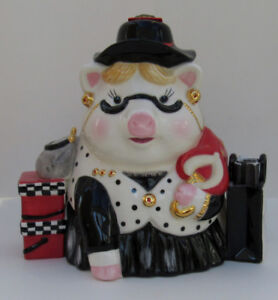 MUD PIE FASHION FUND PIGGY BANK