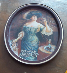 Pepsi-Cola Tin Sign / Tray - Repro