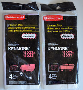 2 packs of Kenmore/Canister Vacuum Bags - 5023 & 5033