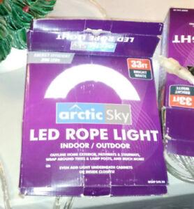 33 ft. White Rope Light
