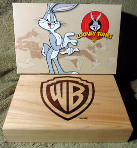 Set of 4 x 1 oz 2015 Looney Tunes™ Wrist Watch Silver Proof Coin London Ontario image 1