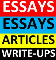 ESSAYS,PAPERS,ARTICLES,WRITE-UPS,MBA ESSAYS,RESUMES,COVER LETTER