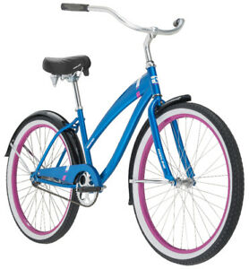 "Redline Redondo 26"" Women's Ladies Blue Cruiser Bike"