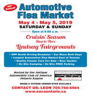2019 Automotive Flea Market Lindsay, ON