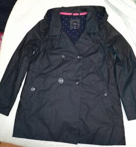 GAP coat size 12 rain Fall Navy blue