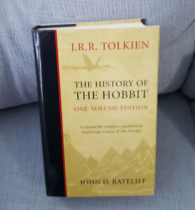 History of the Hobbit - Lord of the Rings - Tolkien Book - NEW