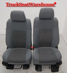 Ford F250 2011 Super Duty power cloth seats F350 F450 truck