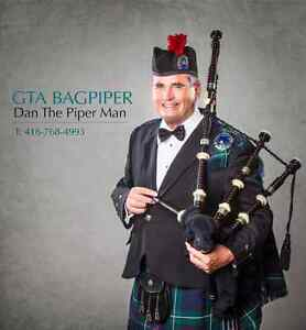 Bagpiper for hire in the GTA