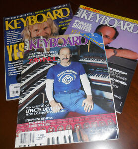 Keyboard Magazines, old