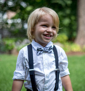 Baby / Toddler Bow Ties and Suspenders
