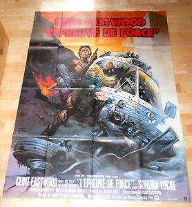 CLINT EASTWOOD THE GAUNTLET  FRAZETTA AFFICHE CINEMA POSTER