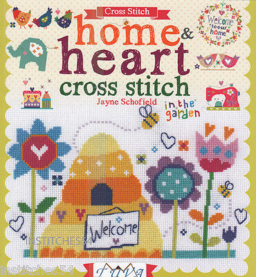 DMC Cross Stitch Chart Book Home & Heart