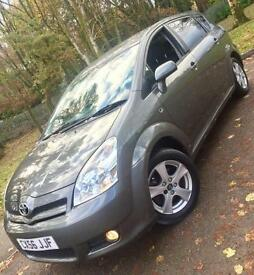 Toyota Verso 1.8 VVT-i T3**7 SEATER MPV**Just 69902 MIles,Outstanding Condition!