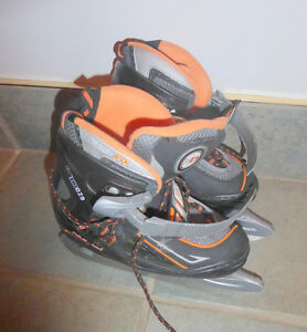 Adjustable sift skates, youth size 3 - 6, good condition